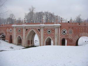 Bridge over Great Ravine in Tsaritsyno