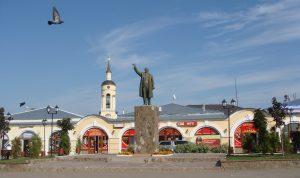 Borovsk, Lenin square