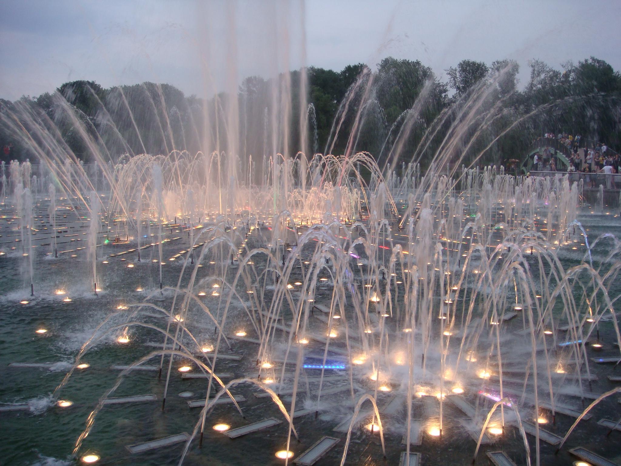 Tsaritsyno fountain