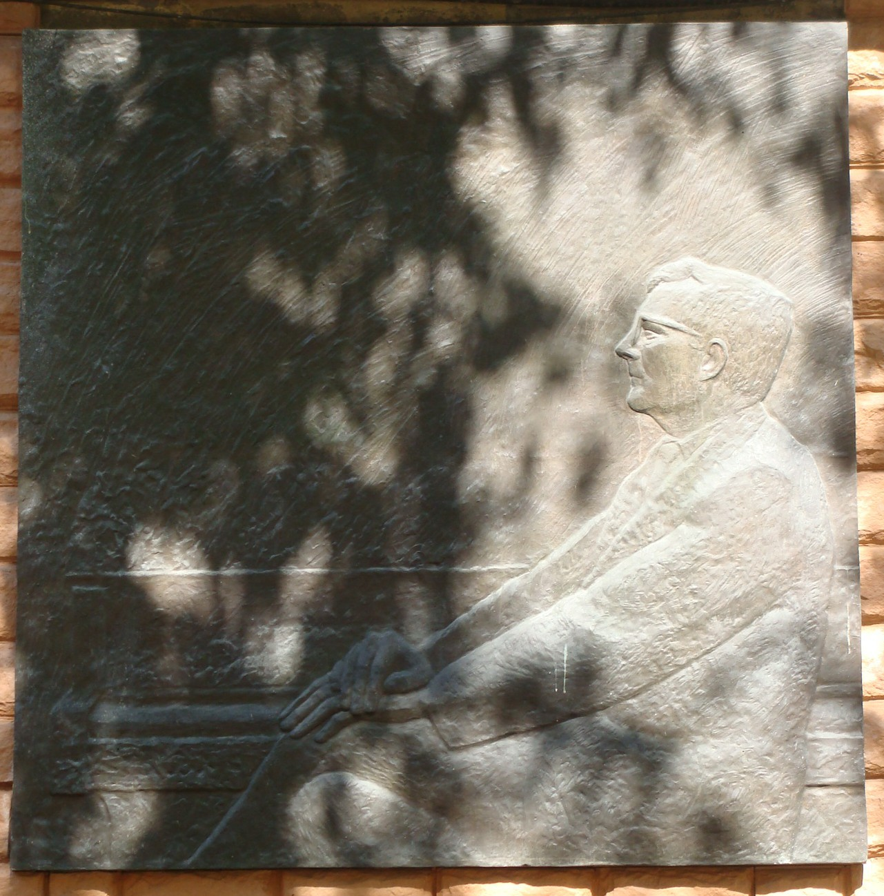 Shostakovich memorial plaque